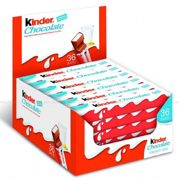 Kinder Chocolate (36x single bars)